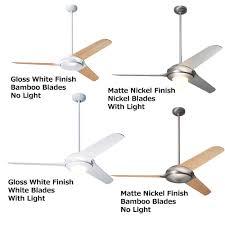 modern fan company flow 52 u201d modern ceiling fan mod flo