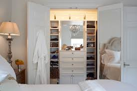Dresser Ideas For Small Bedroom Closet With Built In Dresser Transitional Closet B Design