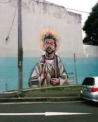 there s a giant george michael mural in australia eleri morgan thomas elerimt jan 12
