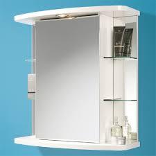 Mirror Bathroom Cabinet With Lights Bathroom Mirror Cabinet With Shaver Socket Photogiraffe Me