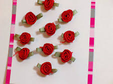 offray accessories offray ribbon boutique accessories 10 pieces wine roses