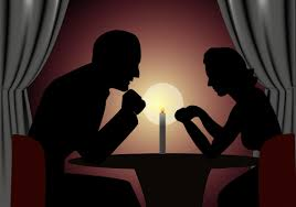 free valentines day candle light dinner backgrounds for powerpoint