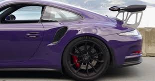 purple porsche 911 ultraviolet porsche 911 gt3 rs wows in driving video