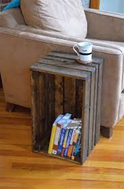 25 best crate side table ideas on pinterest crate table crate