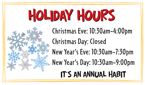 holiday hours of operation sign template lifehacked1st com