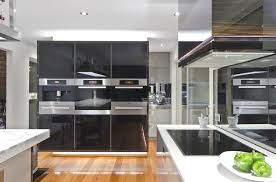 Kitchen Design Black And White Modern Stove Amazing Kitchen Cabinet And Wooden Floor Also Marble