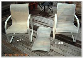 Patio Chair Fabric Diy Replace Patio Chair Sling Patios Home Furniture Ideas