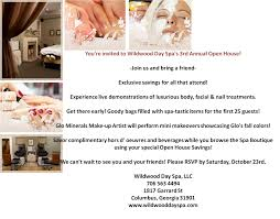wildwood day spa u0027s 3rd annual open house muscogee moms