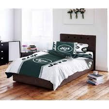 New York Bed Set Nfl New York Jets Bed In A Bag Complete Bedding Set Walmart