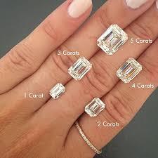 emerald cut engagement rings astonishing 3 carat emerald cut engagement ring 72 on decoration