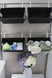 Bathroom Towel Decorating Ideas Bathroom Awesome Bathroom Towel Storage Ideas With Hanging Black