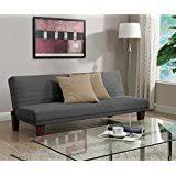 amazon com grey futons living room furniture home u0026 kitchen