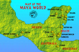 mayan empire map infographics maps and more mayan civilization