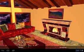 3d Home Hd Android Apps 3d Romantic Fireplace Live Wallpaper Hd Android Apps On Google Play