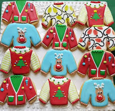 sweater cookies flour box bakery how to decorate four sweater cookies