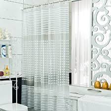 Amazon Extra Long Shower Curtain Amazon Com Peva Clear Shower Curtain Liner Extra Long With Hooks