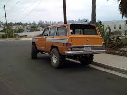 wagoneer jeep lifted the street peep 1973 jeep wagoneer