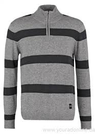 canada knitted jumpers wemoto men clap jumper heather navyblue