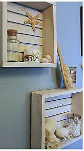 White Bathroom Shelves by Best 25 Crate Shelving Ideas On Pinterest Wood Crate Shelves