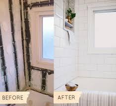 Bathroom Remodels Before And After Pictures by Before U0026 After Christina U0027s 1950s Bathroom Makeover U2013 Design Sponge