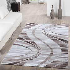 Wohnzimmer Modern Beige Teppich Wohnzimmer Modern Wellen Muster Abstrakt Konturenschnitt
