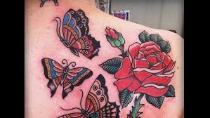 10 unique rose tattoos for women