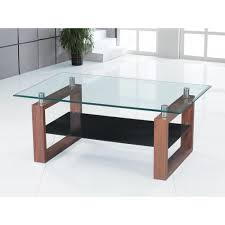 glass coffee table with wood base round glass coffee table metal base black top wcp thippo