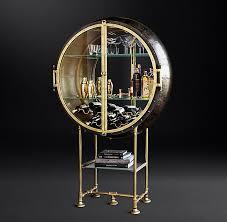Mirrored Bar Cabinet Bar