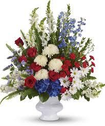 Funeral Flower Designs - patriotic funeral flowers patriotic funeral flower arrangements