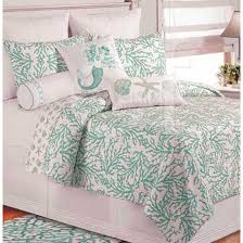 Blue And Coral Bedding Cora Blue Bedding