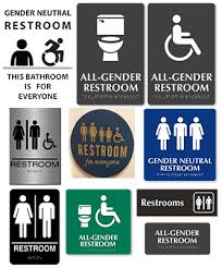 gender neutral single occupant restrooms