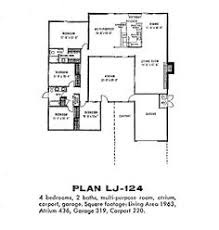 eichler floor plans such a great floor plan a friend of mine lives in a house just like