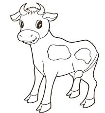100 cow coloring pages free printable childrens coloring pages