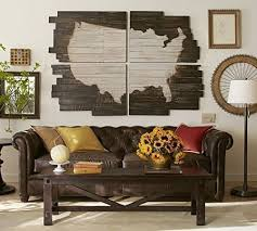 planked usa wall panels wood planked us map