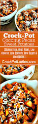 crock pot coconut pecan sweet potatoes crock pot ladies