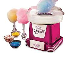 bed bath and beyond ice maker nostalgia electrics retro series cotton candy maker in raspberry