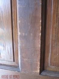Refinish Wood Paneling How To Refinish An Exterior Door The Easy Way