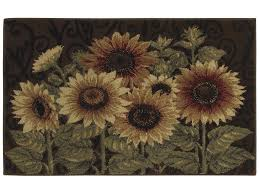 Sunflower Kitchen Rugs Washable by Sunflower Kitchen Rugs Photo U2013 3 U2013 Kitchen Ideas