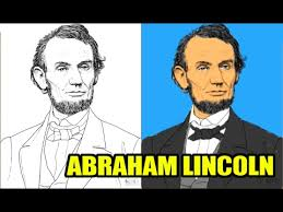 lincoln coloring pages abraham lincoln coloring page for kids to learn painting and