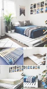 Make A Queen Size Bed by Bed Frames Pallet Platform Bed Instructions How To Make A Pallet