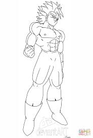 super saiyan coloring pages goku super saiyan coloring page free