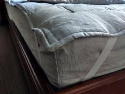 organic hemp flax mattress pad cover filled hemp fiber