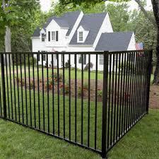 install an aluminum fence