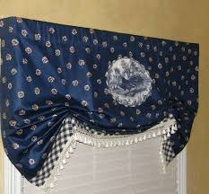 Blue Curtain Valance 40 Best French Country Curtains Images On Pinterest French
