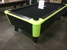 Used Pool Table by Used Pool Tables And Other Equipment Kinneybilliards Com