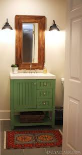 Colorful Bathroom Vanity Bathroom 25 Inspiring And Colorful Vanities Tipsaholic With Green