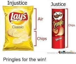 Lays Chips Meme - injustice lays classic justice air chips chips orginal memecentercom