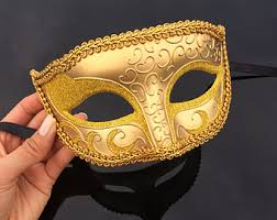 mardi gras masks for men mens masquerade mask etsy