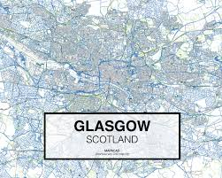 Map Of Glasgow Scotland Glasgow Dwg Mapacad