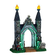 lemax spooky town psychic halloween village lighted accessory